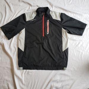 Snake Eyes Golf windbreaker rain jacket large